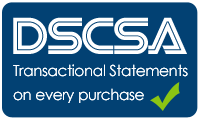 DSCSA statements on every purchase of prescription wholesale pharmaceutical drugs